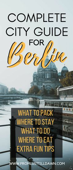 I fell in love with Berlin the moment I stepped foot in the city so naturally, I had to go twice. From my two recent trips there, here's a guide on everything you need to know about Berlin: what neighborhoods to stay in, where to eat, what to do, how to get around and more. | PIN FOR LATER | #berlin #travel #germany #cityguide via @lusttilldawn
