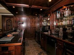 home pub.  Don't know about such easy access to the liquor, however ...