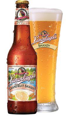 Leinenkugel's Grapefruit Shandy (Weiss Beer Brewed with Honey and Natural Grapefruit Flavor)