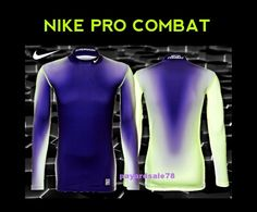 Nike Long Sleeve Basketball Base Layers for Men Nike Long Sleeve, Nike Pro Combat, Nike Pros, Nike Dri Fit, Wetsuit, Nike Men, Layers, Fitness, Swimwear