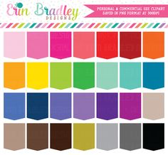 Tall Tags Clipart – Erin Bradley/Ink Obsession Designs