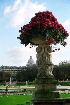 Luxembourg Gardens, Paris, France Copyright