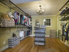 Budget-Friendly Closet Solution - Ways to Maximize Storage in Your Walk-In Closet on HGTV