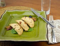 Sweet Potato & Parmesan Empanadas / @DJ Foodie / DJFoodie.com