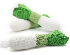 24 Pieces Crochet Fruit and vegetables teether teeth by MiniMoms