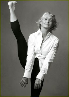 Twyla Tharp, a dance choreographer in New York City, starts every day at 5:30am with two hours in the gym. She's 70 years old.
