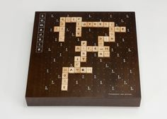 Fun and games - we love typography AND we love Scrabble