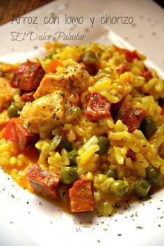Un plato de los de aprovechamiento que nos recomienda la autora del blog EL DULCE PALADAR.