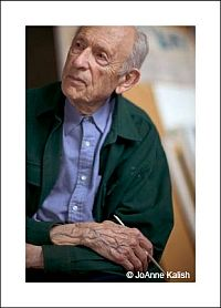 Farewell to Major American Abstract Artist Will Barnet. Photo: JoAnne Kalish- All Rights Reserved.