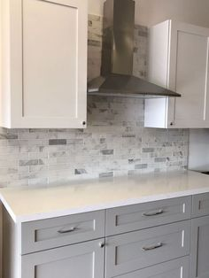 You Need To Know White Shaker Kitchen Cabinets Farmhouse Subway Tile Backsplash 8 New Kitchen, Kitchen Cabinets, White Kitchen Remodeling, White Kitchen, Shaker Kitchen, New Kitchen Cabinets, Refacing Kitchen Cabinets, Kitchen Design, Kitchen Renovation
