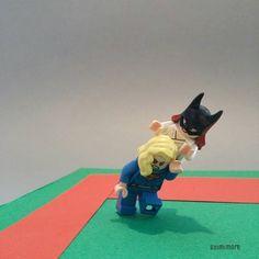 "DC OLYMPIC n°06 ""Judo""  #rio2016 #JO2016 #olympic #Judo #DCCOMICS #Batgirl #Supergirl #LEGO #minifigures #minifig #legography #toy #afol"