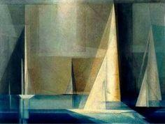 Lyonel Feininger, de la caricatura a la Bauhaus Piet Mondrian, Wassily Kandinsky, Art Bauhaus, Art Dégénéré, John Heartfield, George Grosz, Boat Art, Oil Painting Reproductions, American Artists