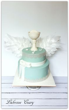 Boy Communion Cake