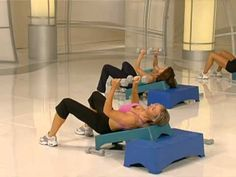 Firm Master Instructor Stephanie Huckabee leads you through this upper-body blast to help you strengthen and tone your arms and give you maximum results! The Firm Workout, Step Workout, Back Of Arm Exercises, Weight Loss Motivation, Fitness Motivation, Workout Videos, Exercise Videos, Excercise, Weight Training Workouts