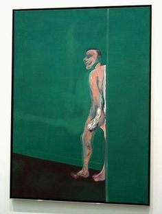 Francis Bacon, Walking Figure, 1960.