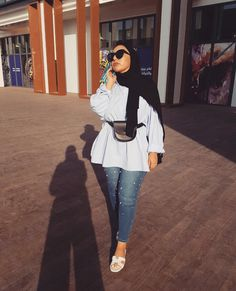 ZAFUL offers a wide selection of trendy fashion style women's clothing. Hijab Fashion Summer, Modern Hijab Fashion, Street Hijab Fashion, Muslim Women Fashion, Hijab Fashion Inspiration, Islamic Fashion, Mode Inspiration, Modest Fashion, Hijab Chic