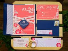 Love Birds Invitation Suite