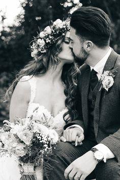#EnzoaniRealBride Cydney in Inaru wedding dress / H&S Media