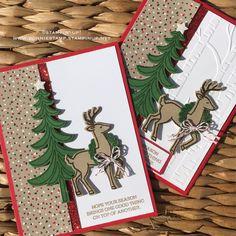 #santassleigh #stampinup #holidaycards   www.bonniestamp.stampinup.net