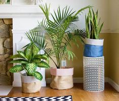 These DIY fabric flower pot covers will transform the boring brown plant planters into lively pieces of fabric decor! Diy Flowers, Fabric Flowers, Potted Flowers, Plant Bags, Grands Pots, Decorated Flower Pots, Terracotta Flower Pots, Fleurs Diy, Flower Pot Crafts