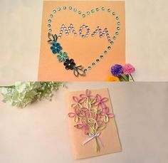 Cards for Mother's Day, need them? LC.Pandahall.com has shown us the tutorial.  #pandahall