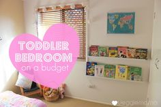 Veggie Mama: Decorating a toddler's room on a budget
