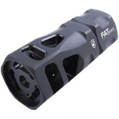 Phase 5 FATman Hex Break .300 BLK/.308 Win/7.62 NATO AR Style Muzzle Break with Crush Washer 5/8x24 TPI Steel FATman-5/8-24 - 813318021496