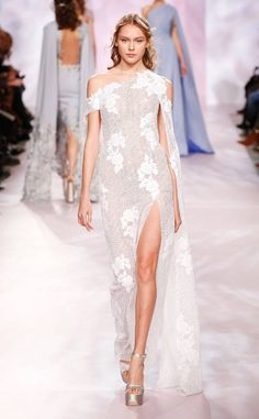 Georges Chakra from Paris Haute Couture Fashion Week Spring/Summer 2017 Georges Chakra, Fashion 2017, Runway Fashion, Fashion Show, Live Fashion, Fashion News, Paris Fashion, Evening Dresses, Prom Dresses