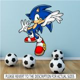 Sonic the Hedgehog Wall Sticker http//www.wallsmartdesigns.co.uk/