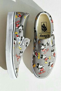 Mickey Mouse Slip-On Sneaker /// I have the minnie mouse version Mickey Mouse Slip-On Sneaker /// I have the minnie mouse version The Disney and Vans Young at Heart Collection is Now Available! Vans Sneakers, Slip On Sneakers, Vans Shoes, Slip On Shoes, Vans Footwear, Vans Disney, Disney Shoes, Mickey Mouse Vans, Minnie Mouse