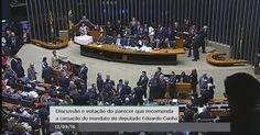 Sessão deliberativa - 12/09/2016 Em discussão a cassação do deputado Eduardo…