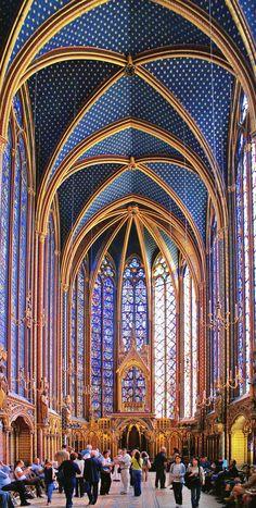 Sainte Chapelle in Paris, France