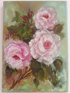 Magenta Roses Print by Jeanette Donaher