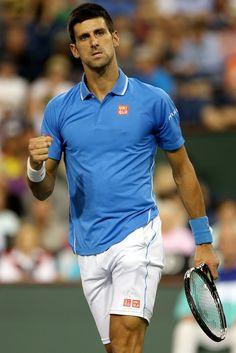 Novak Djokovic Photos: BNP Paribas Open: Day 10