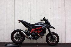 New Rage Cycles fender eliminator, Ducati Hypermotard