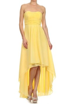 Estelle's Dressy Dresses is the World's Largest Dress store with over dresses in stock at all times. Get your special occasion dress at our Farmingdale, New York location or buy online. Bridesmaid Dresses, Prom Dresses, Dressy Dresses, Layered Skirt, Buy Dress, Special Occasion Dresses, Chiffon Dress, Dress Collection, High Low