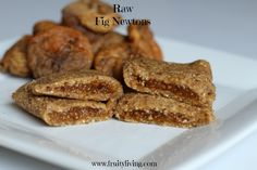 Raw Fig Newtons or Fig Bars