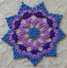 PDF Crochet Pattern Mini Mandala Doilies 12 different Wire Crochet, Thread Crochet, Crochet Motif, Crochet Doilies, Crochet Stitches, Crochet Hooks, Crochet Coaster, Mini Mandala, Wire Jewelry Patterns