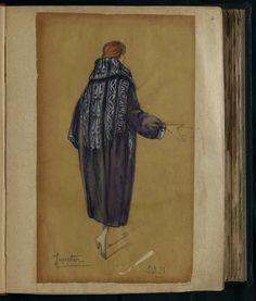 Robe Jupiter, Paris 1920, copyright Patrimoine Lanvin #JeanneLanvin #Lanvin