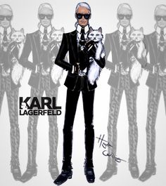 Happy Birthday to the iconic Karl Lagerfeld
