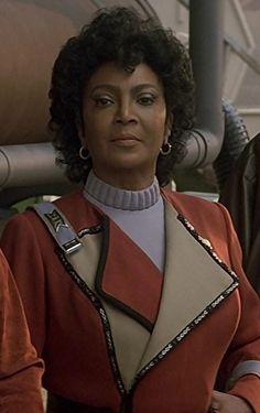 Uhura from Star Trek 4, The Voyage Home.