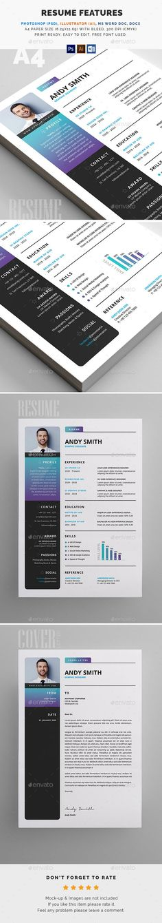 Clean Resume\/CV Word Simple resume template, Simple resume and - easy simple resume template
