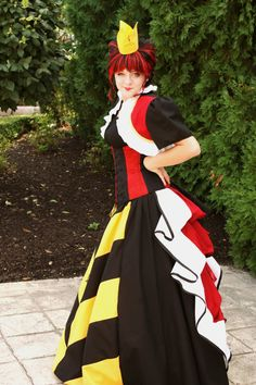 Queen of Hearts costume by loriann37.