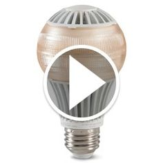 Watch The NASA Sleep Promoting Light Bulb in action