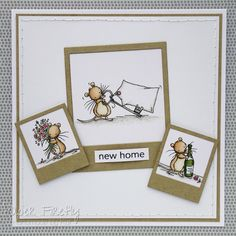 LOTV - Three Kind Mice Flowers, Key and Bottle