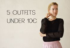 #5outfits #under10€ #fashion #styling #secondhand #textilhouse #blogger #petrabutkova #blog #byfoxygreen  More: http://byfoxygreen.blogspot.sk/2016/06/photoshoot-for-textil-house-secondhand.html