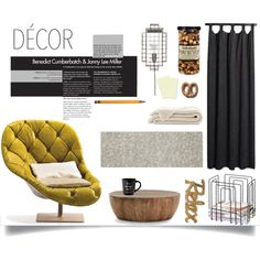 cant leave sunday by senaa on Polyvore featuring interior, interiors, interior design, home, home decor, interior decorating, MOROSO, Arteriors, CB2 and Commonwealth Home Fashions