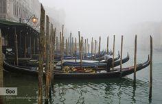 Venice Through the Mist by thisismarysharp1. Please Like http://fb.me/go4photos and Follow @go4fotos Thank You. :-)