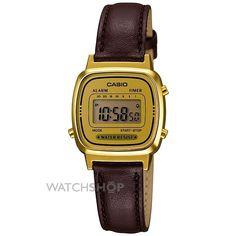 Ladies Casio Classic Alarm Chronograph Watch LA670WEGL-9EF