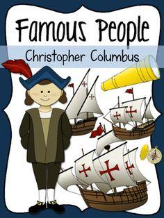 Christopher Columbus Social Studies Clipart